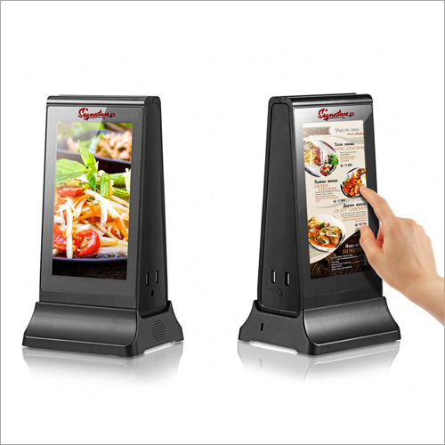 Smart Hotel and Resturant Menu Display Power Bank