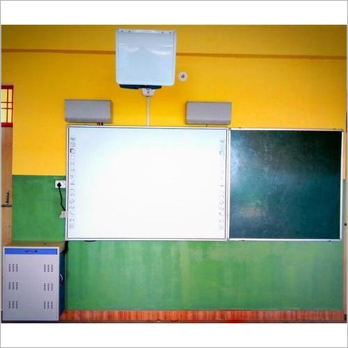 Regular Smart Classroom With Optical Board