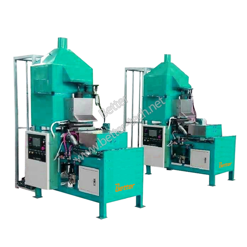 Lead part casting machine