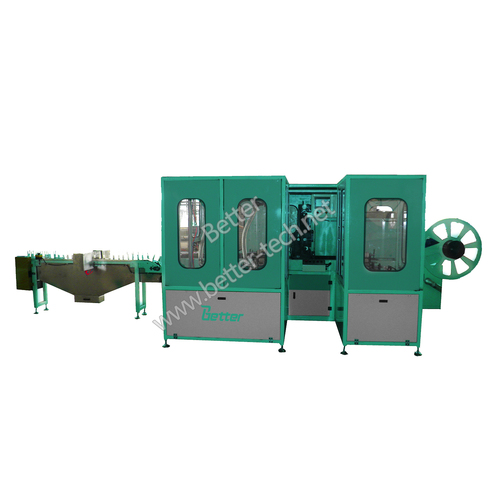Enveloping and stacking machine (PE)