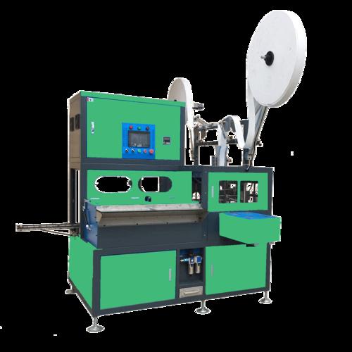 Enveloping and stacking machine (AGM, MC&UPS)