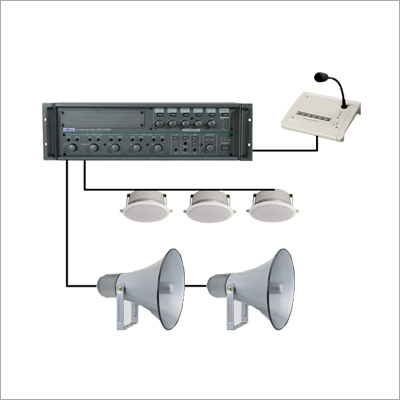 PA and Speaker System
