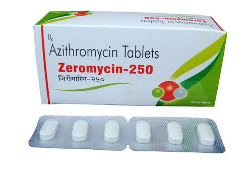 ZEROMYCIN-250 TAB