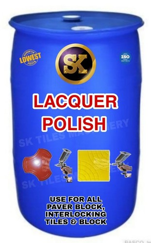 Lacquer Polish For Paver Block