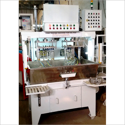 Oil Pan Leak Testing Machine