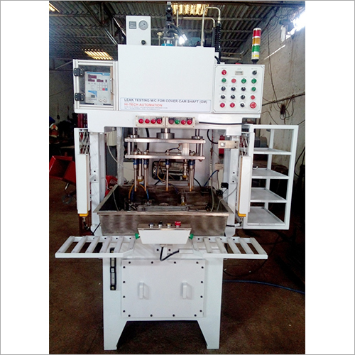 Cover Camshaft Leak Testing Machine