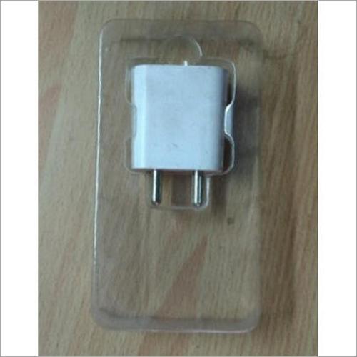 Rectangular PVC Mobile Charger Blister