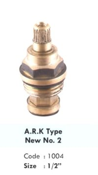 A.R.K TYPE NEW NO.2 BRASS SPINDLE