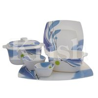 32 Pcs Square Family Set - Blue Sky