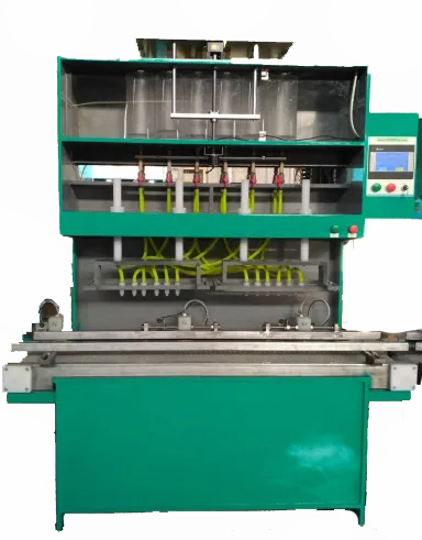 Acid filling machine