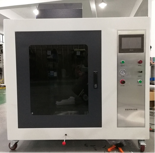 Vertical Burning Rate Tester, ECE R118 Annex 8