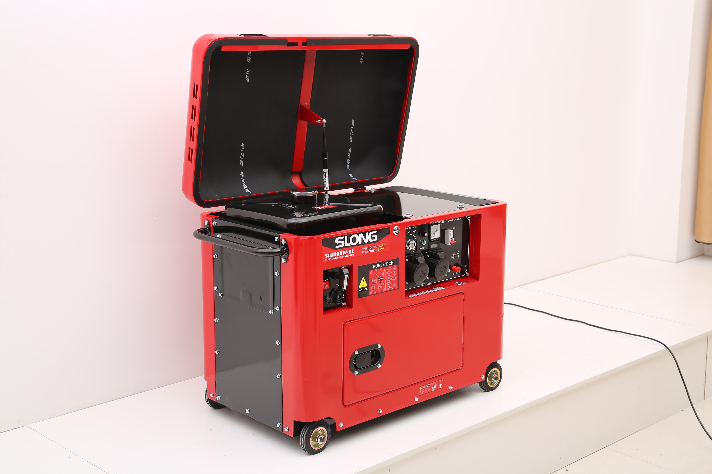 SL9000W-SE Gasoline Silent Generator