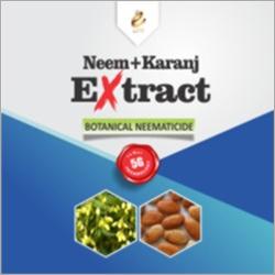 Neem And Karanj Extract Botanical Nematicide