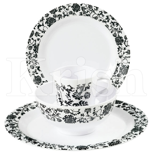 16 Pcs Black Forest Dinner Set