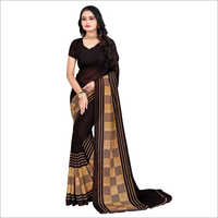 Indian Poly Georgette Saree