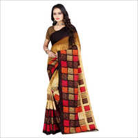Casual Poly Georgette Saree