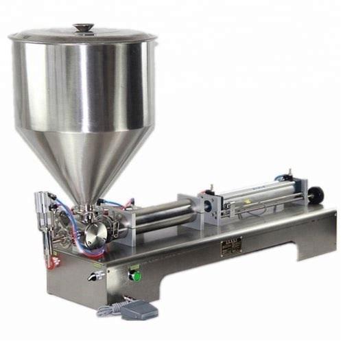 5 Ml To 100 Liquid & Paste Filling Machine Single Nozzle