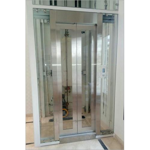 Automatic Center Opening Door