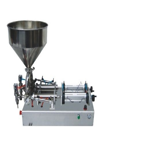 5 Ml To 100 Ml Liquid & Paste Filling Machine Double Nozzle