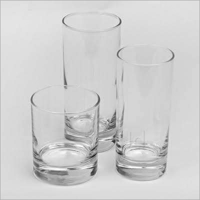 Transparent Drinking Glass