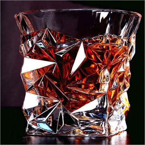Crystal Twisted Whiskey Glass