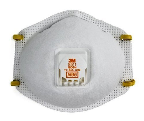 3M 8511 N95 Particulate Respirator with Valve