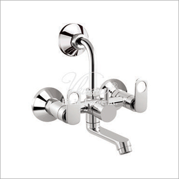 CP Brass 2 in 1 Wall Mixer