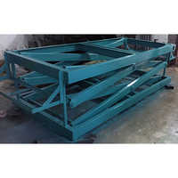 Plywood Scissor Lift Machine