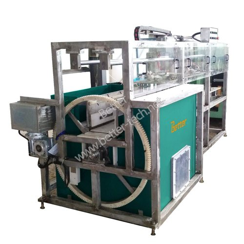 Acid dumping machine