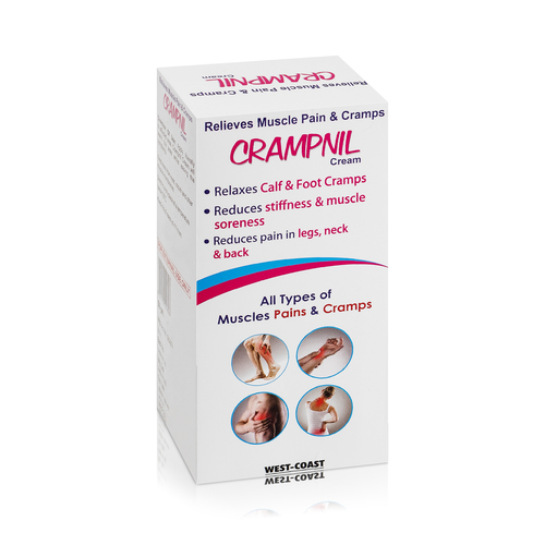 Relieves Muscle Pain And Cramps Cream