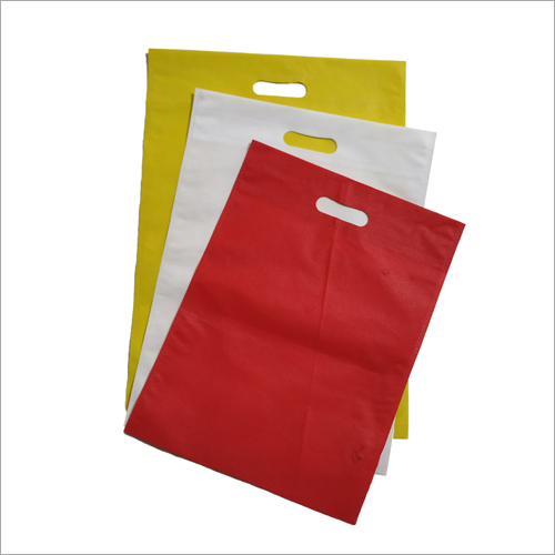 Multicolored D Cut Non Woven Bag