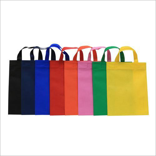 Multicolor Loop Handle Non Woven Bag
