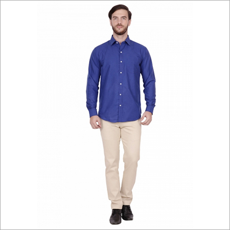 Dark Blue Formal Shirts