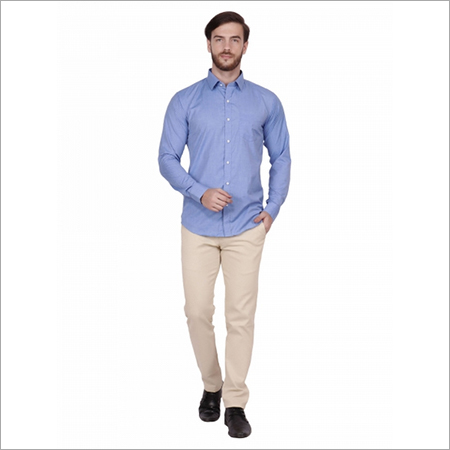 Cornflower Blue Formal Shirts