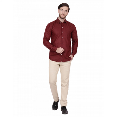 Maroon Formal Shirts