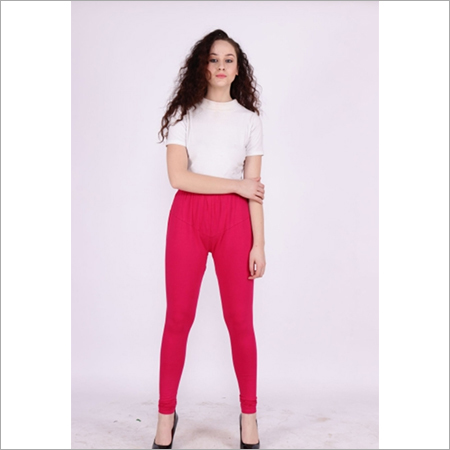 Ruby Color Churidar Leggings