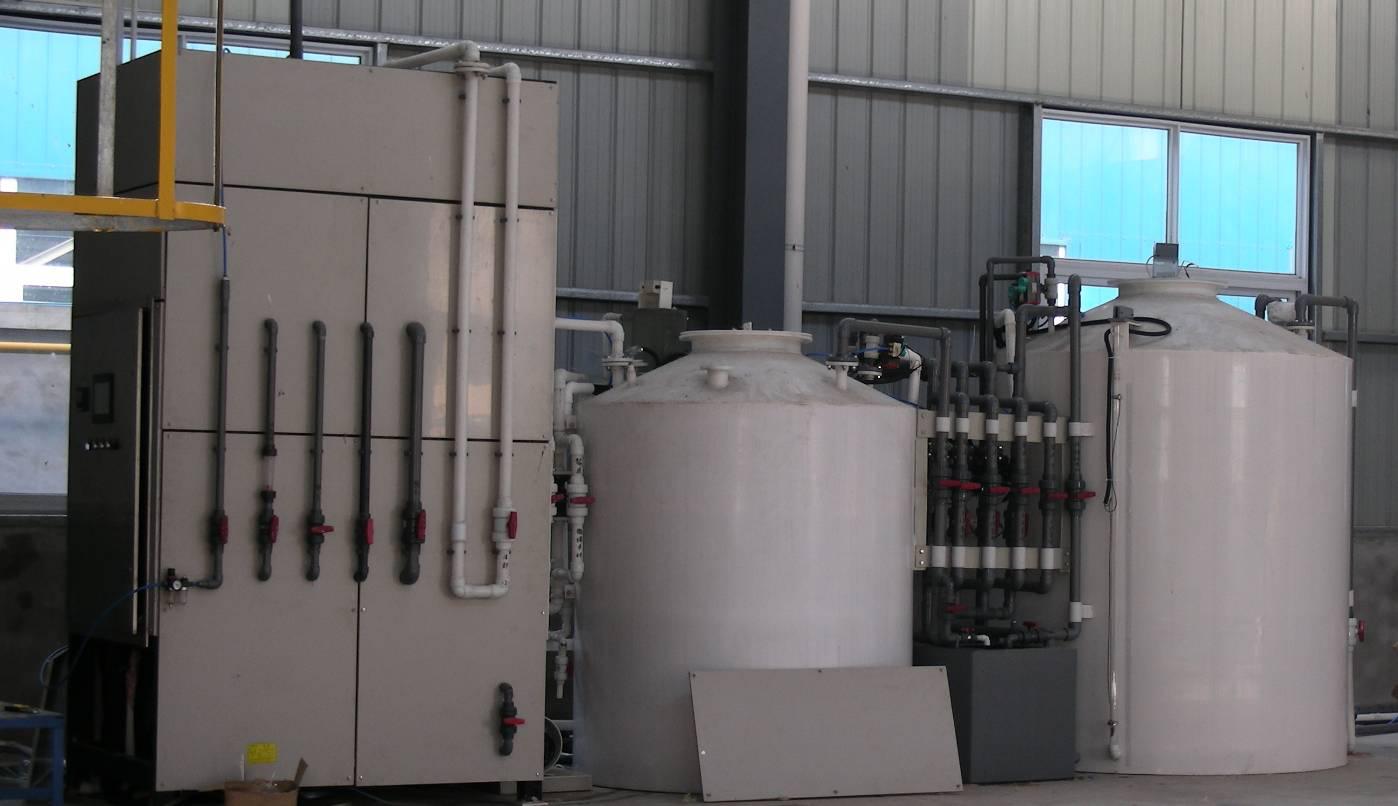 Acid dilution system