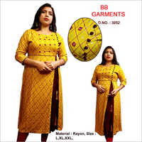 Ladies Side Cut Kurti