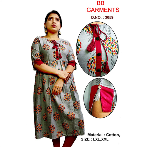 New Ladies Cotton Kurti