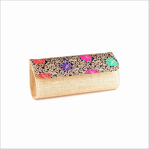 Ladies Jute Hand Wallet