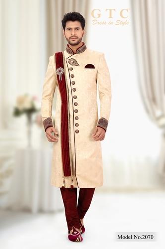 CLASSIC WEDDING SHERWANI