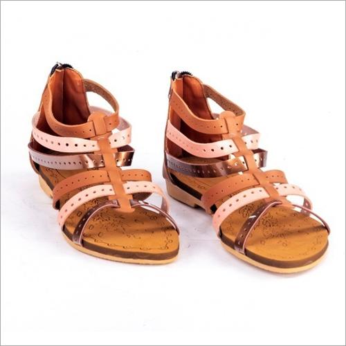 Ladies Flat Gladiator Sandals