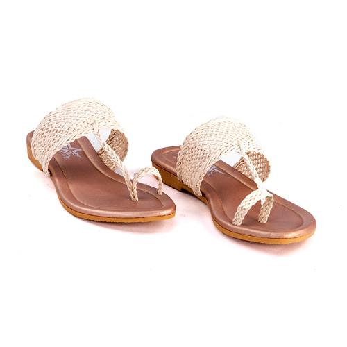 Ladies One Toe Flat Sandal