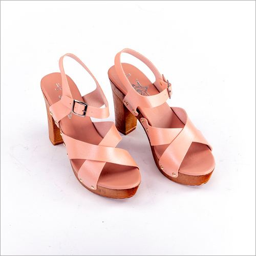 Ladies 3.5 Inch High Heel Sandal