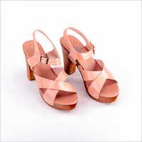 Ladies 3.5 Inch High Heel Sandal