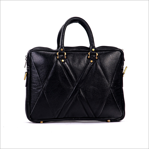 Unisex Leather Laptop Bag