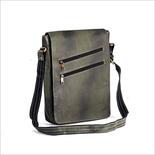 Leather Office Side Sling Bag