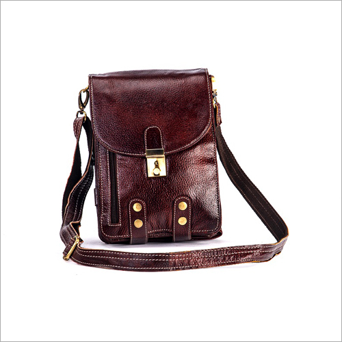 Full Grain Leather Sling Bag