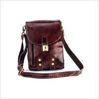Full Grain Leather Sling Bag