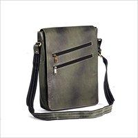 Leather Office Side Sling Bag